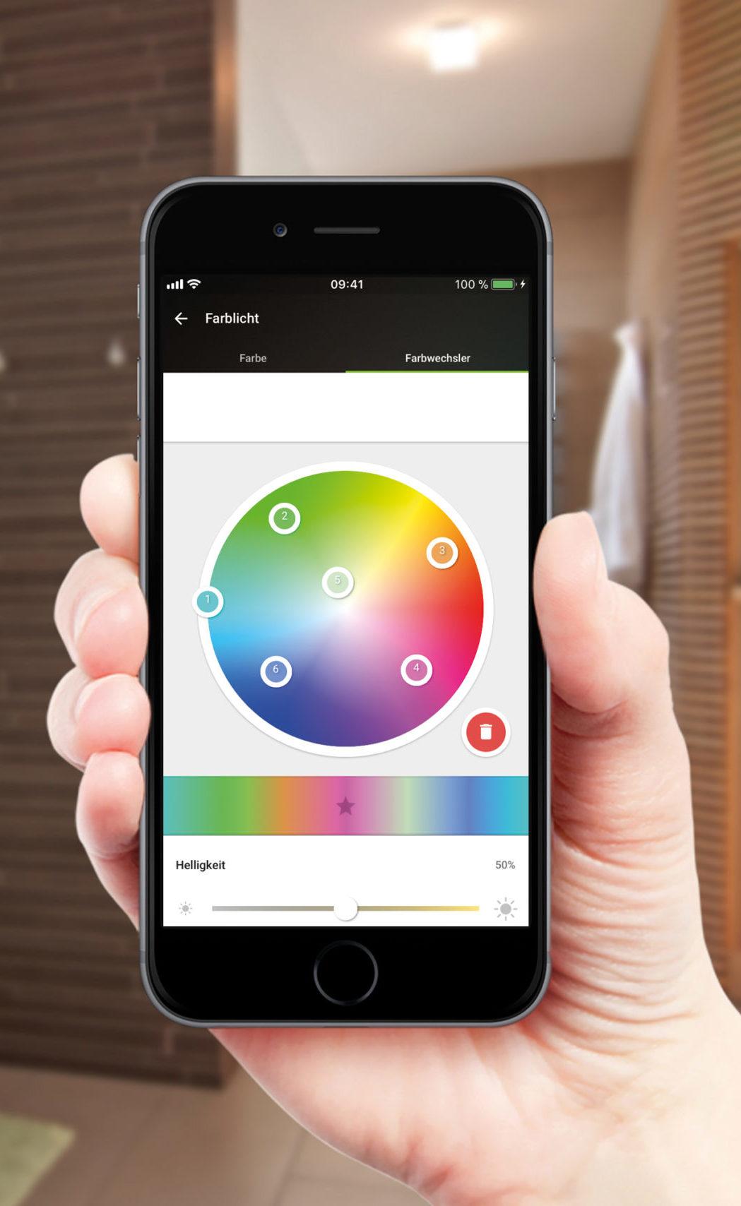 Loxone Smart Home App bei Elektro Sasse Bremerhaven